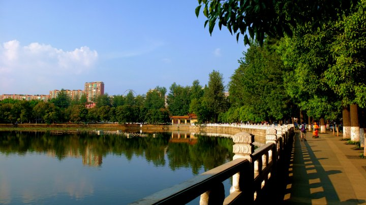 Green Lake of Kunming City