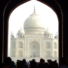 I feel Taj Mahal very magical everytime I look into this angle