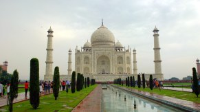 This is the famous/boring angle of Taj Mahal