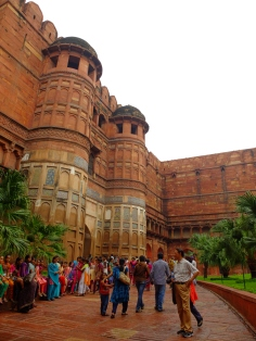 Another side of Agra Fort