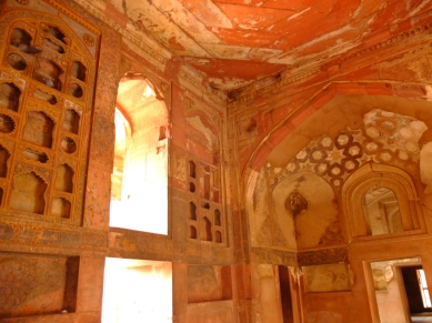 The Interior of Agra Fort