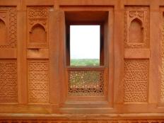 An open window