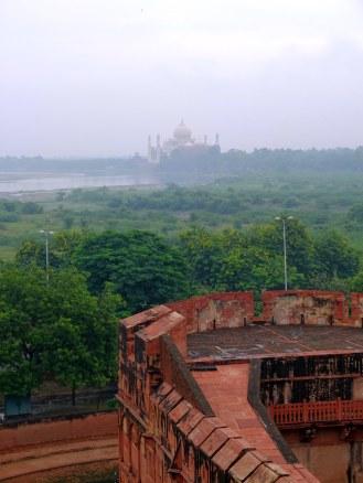 Taj Mahal was designed so Shah Jahan can see his beloved wife anytime *soo sweet :'(