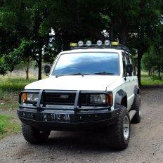 Our Safari Jeep ...eerrrr NOPE!
