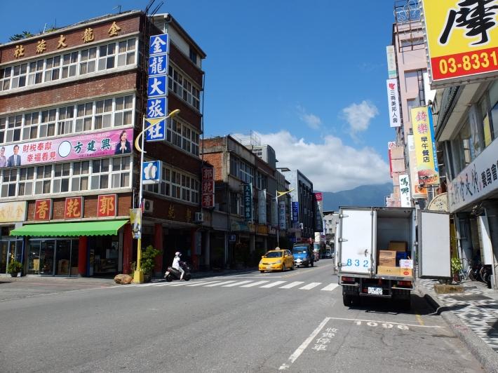 Salah satu sudut kota Hualien, Taiwan