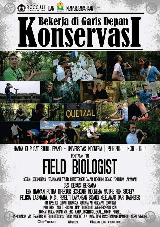 field Biologist poster